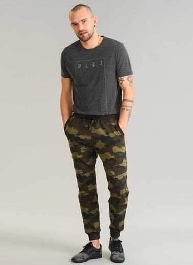 Kamuflaj Desenli Sweatpant-People By Fabrika
